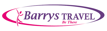 Barrys Travel Logo